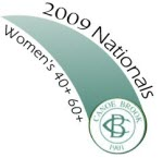 2009  Womens Nationals 40 60 Logo
