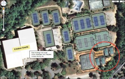 Racquet Club of the South Site Plan