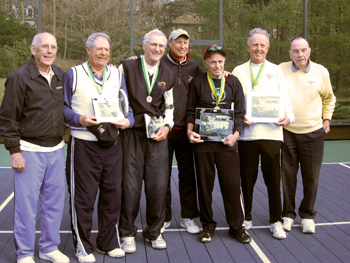 APTA Men's 70+ Nationals Finalists