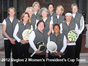 2012 Region II Women's President's Cup Team