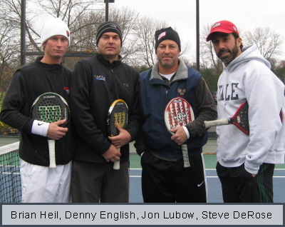Charities 2008 Men's Finalists