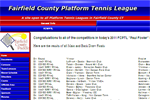 Fairfield County Platform Tennis League