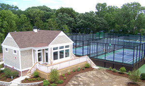 Lake Bluff Park District Platform Tennis Courts