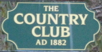 The Country Club Sign