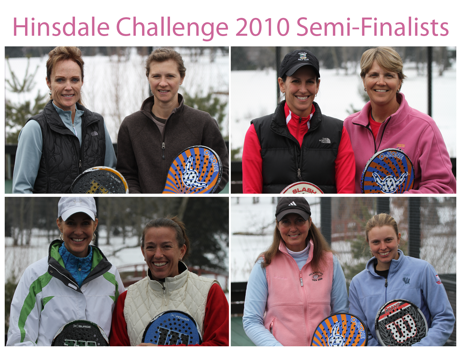 Hinsdale Challenge 2010 Semi-Finalists